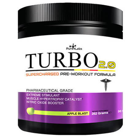 Pure Labs Turbo 2.0 Pre Workout PNI