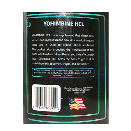 Yohimbine HCl 2,5mg
