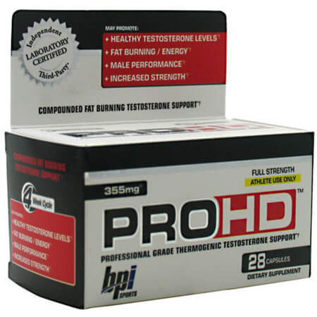 BPI Sports PRO-HD Testo Booster buy in our online store and safe money!!!