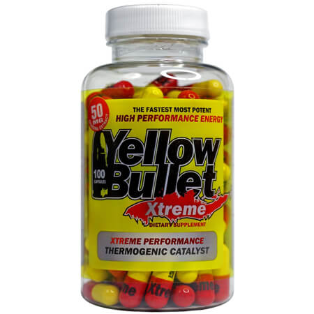 Xtreme Hard Rock Supplements Yellow Bullet