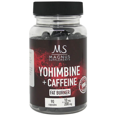 Magnus Supplements Yohimbine Caffeine
