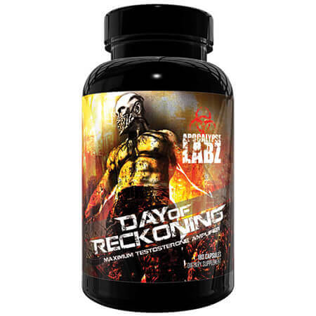 Day of Reckoning Apocalypse Labz Testo Booster