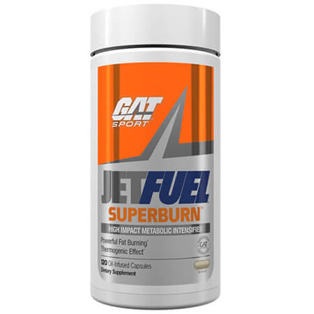 GAT Sport JETFUEL Superburn Fatburner Capsules. Micron RD Technology / Superburn Stimulant Blend 485mg / Triple-Tea Plus Antioxidant Blend 295mg / Superburn Cognitive Enhancement Blend 285mg. Buy GAT Sport JETFUEL Superburn Fatburner & Appetite Suppressor online now. GAT Sport JETFUEL Superburn Fatburner SALE!