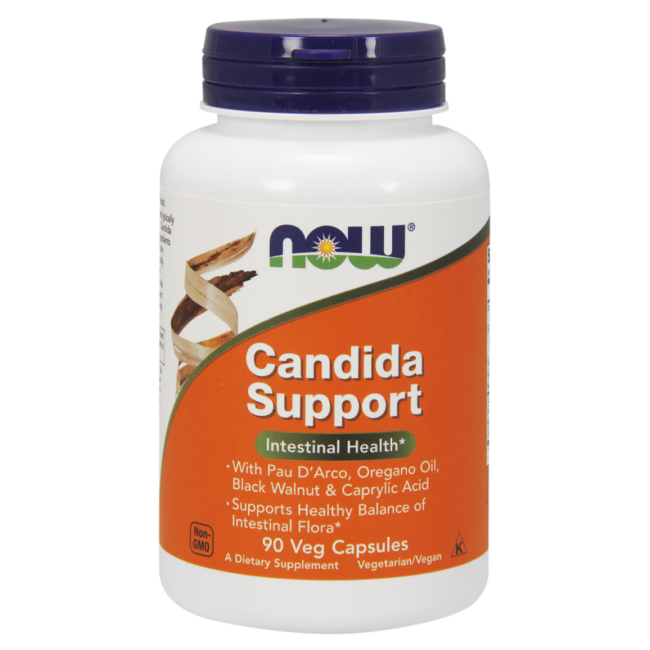 NOW Foods Candida Support Veg Capsules