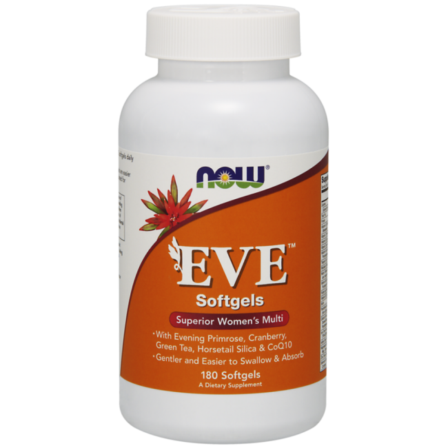 NOW Foods Eve™ Women's Multiple Vitamin 180 Softgels
