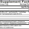APS Nutrition Chain'd Reaction Inhaltsstoffe Facts