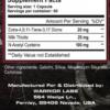 Warrior Labs TREN-WAR Inhaltsstoffe-Facts