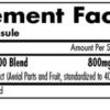 iForce Nutrition Tribulus 2400 Inhaltsstoffe Facts