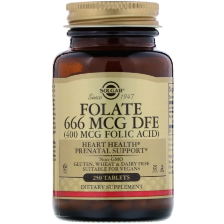 Folate 400mcg als Metafolin new