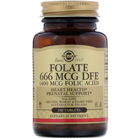 Folate 400mcg als Metafolin new