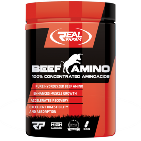 Real Pharm Beef Amino 300 Tabs