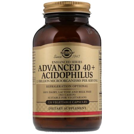 Solgar Advanced 40+ Acidophilus 120 Kapseln