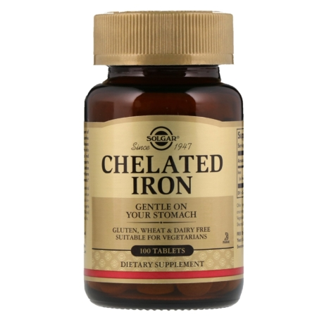 Solgar Chelated Iron