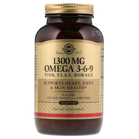 Solgar EFA 1300 mg, Omega 3-6-9