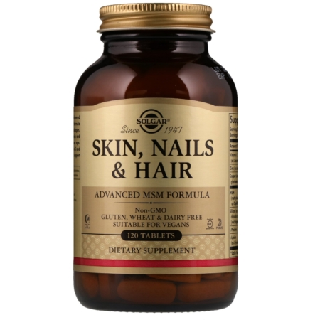 Solgar Skin, Nails and Hair, MSM Formel