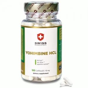 Swiss Pharmaceuticals YOHIMBINE HCL 100 Kapseln
