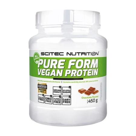 Scitec Nutrition Vegan Protein Pure Form - 450g