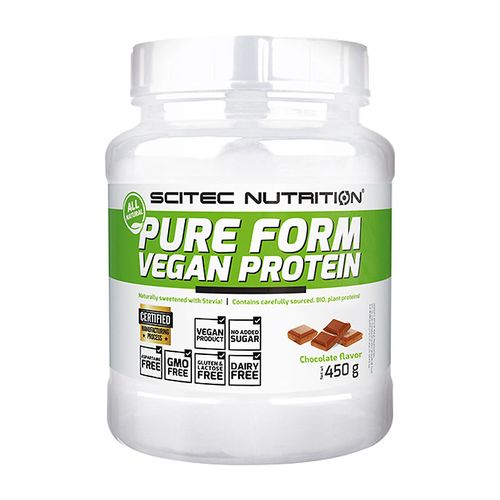 Scitec Nutrition Vegan Protein Pure Form - 450g