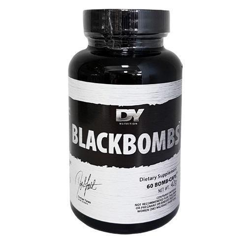 DORIAN YATES Black Bombs DMAA Fatburner