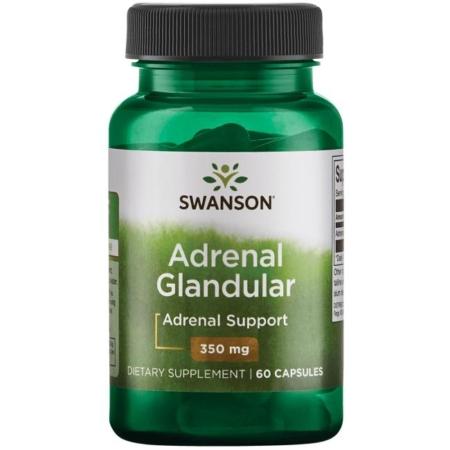 Swanson Adrenal Glandular 350 mg 60 Kapseln