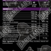 CRACK DMAA von Dark Labs Inhaltsstoffe / Facts. Crack Pre-Workout Booster mit 120mg DMAA für krasse Trainingseinheiten.
