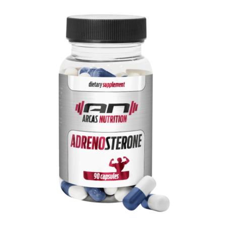 ADRENOSTERON von ARCAS Nutrition ist ein Prohormon der den Cortisolspiegel senkt und die Fettverbrennung ankurbelt.