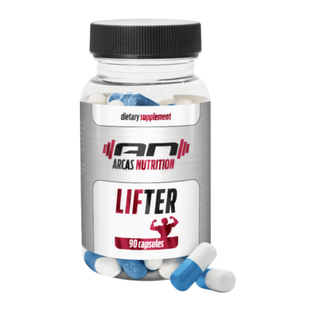LIFTER von ARCAS Nutrition sorgt für Wachstum von reiner Muskelmasse und Kraft