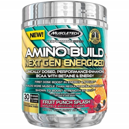 MuscleTech Amino Build Next Gen BCAA + Elektrolyte
