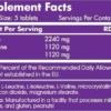 Scitec Nutrition BCAA 6400 Inhaltsstoffe Facts