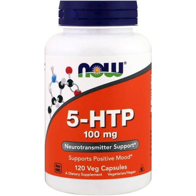 NOW Foods 5-HTP 100 mg 120 Kapseln