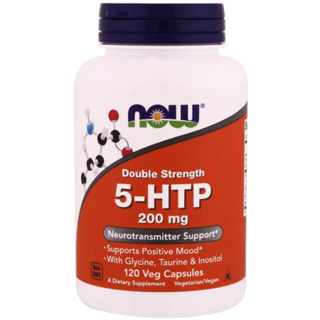 NOW Foods 5-HTP 200 mg 120 Kapseln