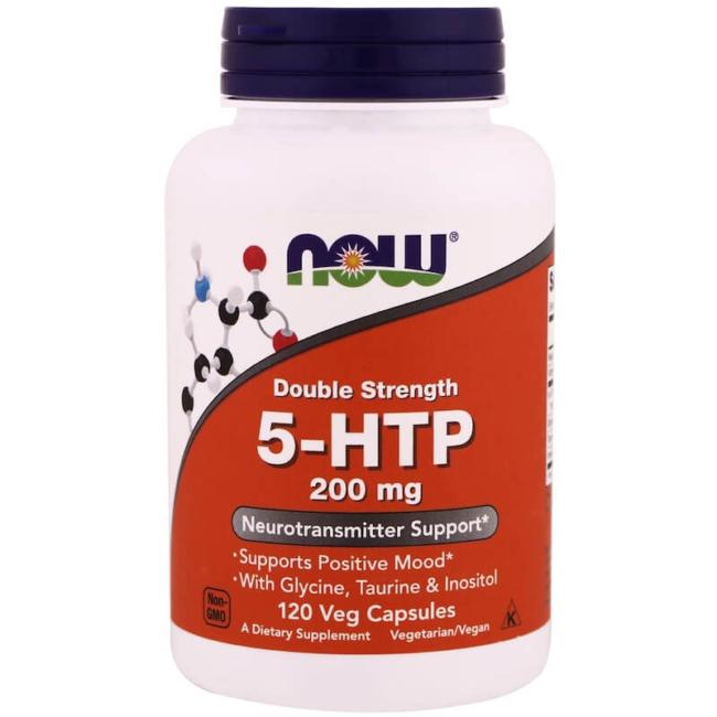 NOW Foods 5-HTP 200 mg 120 Kapseln
