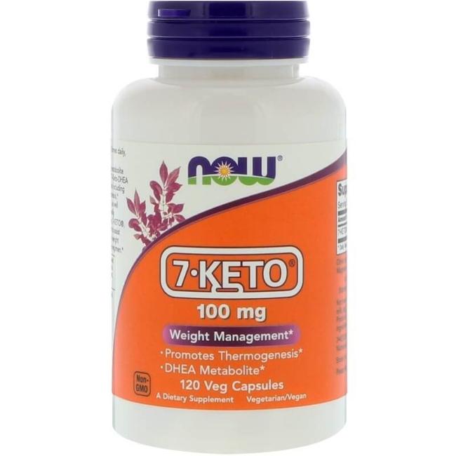 NOW Foods 7-Keto 100 mg 120 Veg Kapseln