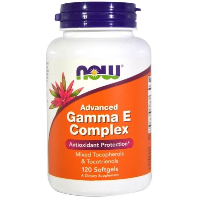 NOW Foods Advanced Gamma E Complex 120 Softgels