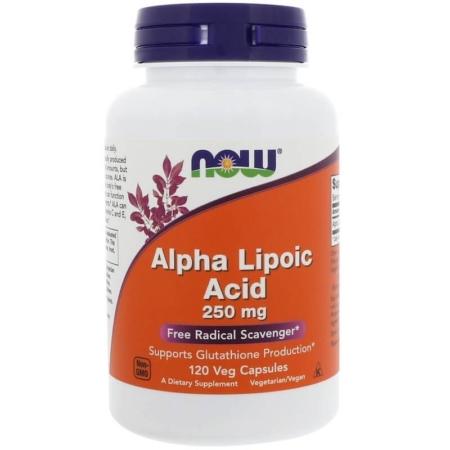NOW Foods Alpha Lipoic Acid 250mg 120 Kapseln