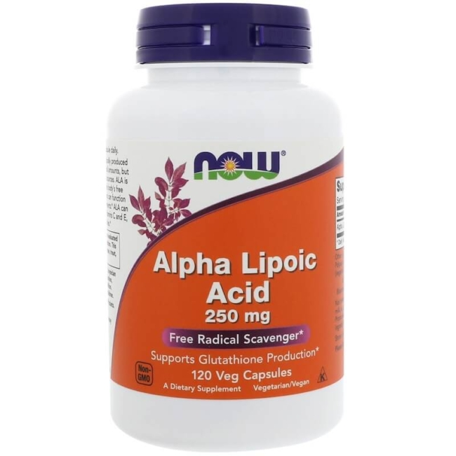 NOW Foods Alpha Lipoic Acid 250mg 120 Kapseln