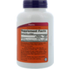 NOW Foods Vitamin E-400 Natural 250 Softgels Inhaltsstoffe Facts