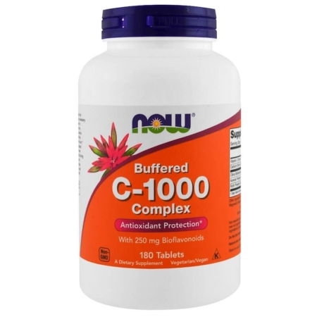 Now Foods Vitamin C-1000 Complex 180 Tabletten