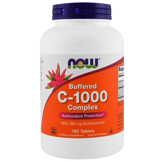 Now Foods Vitamin C-1000 Complex 180 Tabletten