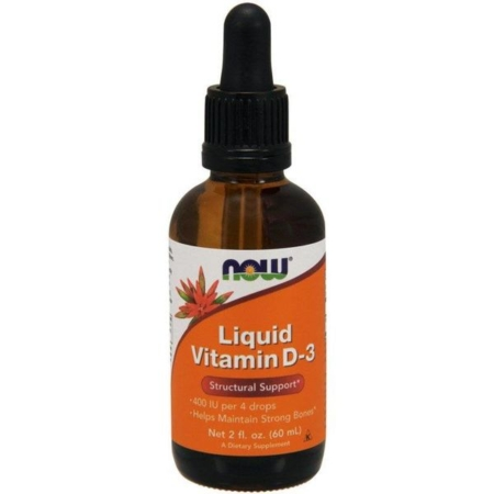 Now Foods Vitamin D-3 Liquid 60ml