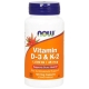 Now Foods Vitamin D3 & K2