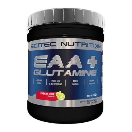 Scitec Nutrition EAA + Glutamine Supplement 300g