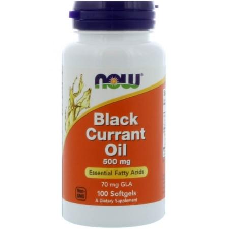 NOW Foods Black Currant Oil 500mg unterstützt deine Gesundheit und dein Wohlbefinden