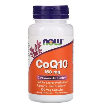 NOW Foods COQ10 150 mg 100 Veg Kapseln