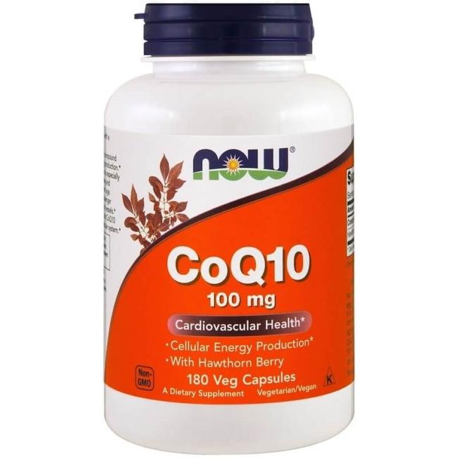 NOW Foods CoQ10 100 mg 180 Kapseln