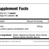 SNS Phenibut XT Inhaltsstoffe Facts