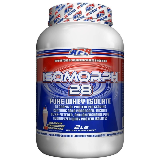 APS Nutrition IsoMorph Pure Whey Isolate 907g