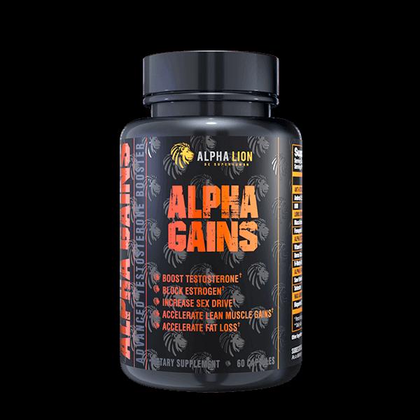 Alpha Lion Alpha Gains Testosteron Booster