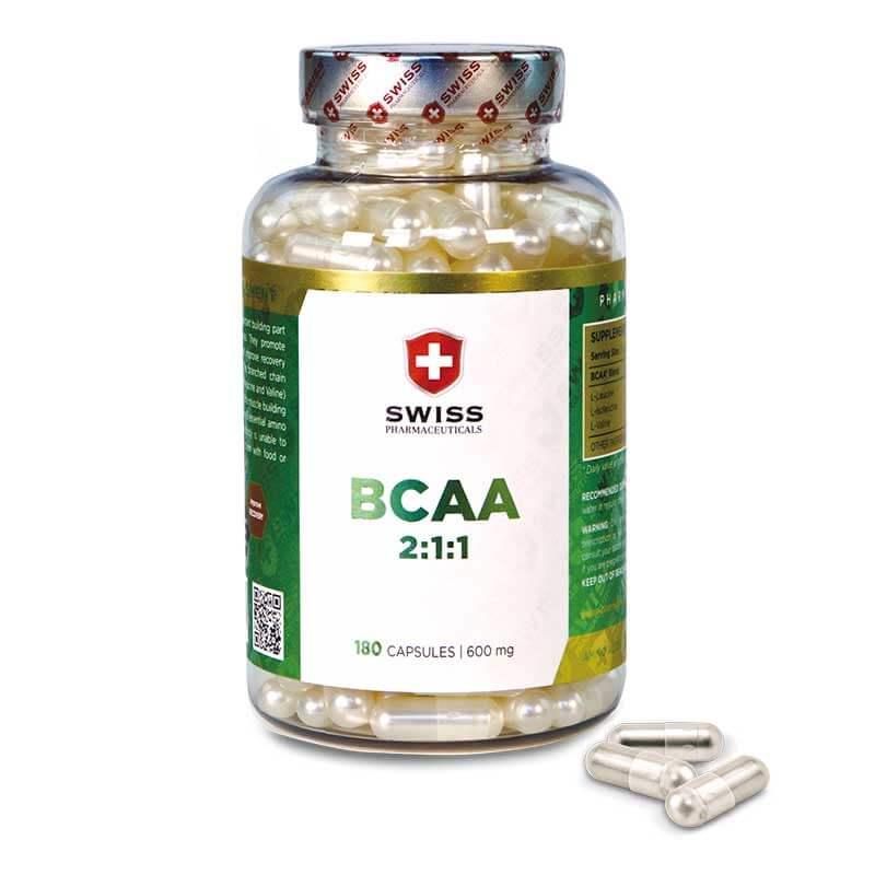 BCAA 2:1:1 Swiss Pharmaceuticals