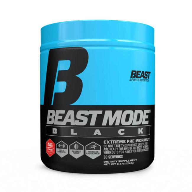 Beast Sport Nutrition Beast Mode Black